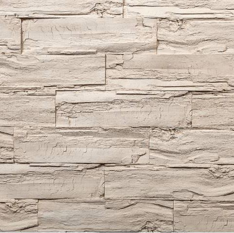 Sample Naos White - Wood Effect Wall Panels