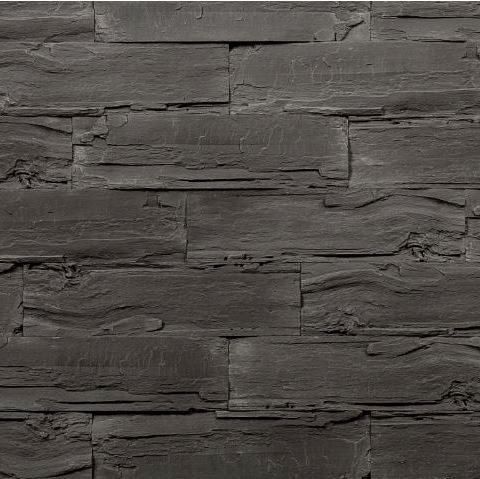 Sample Naos Graphite - Wood Effect Wall Panels